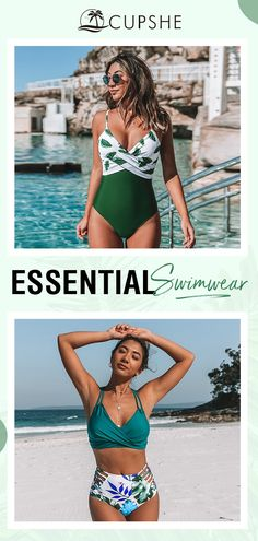 So perfect for your vacation. Summer Wear, Summer Outfits, Vacation Wear, Get Skinny, Cute Bathing Suits, Beach Fashion, New Wardrobe, Sport Girl, Swim Wear