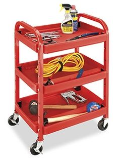 Little Red Cart in Stock - ULINE