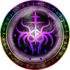 Sigil to help you open your third eye, and balance your energy centers by Wolfofantimony