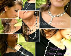 Reflection is one of my favorite pieces! It can be worn in so many ways! Contact me to order, or learn how to get this necklace FREE!!!    www.liasophia.com/suemarsden    photography by @Amber Hobbs