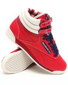 Buy Freestyle Hi R12 Sneakers Women's Footwear from Reebok