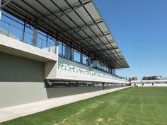 Imágenes de la ciudad deportiva del Real Betis Balompié finalizadas Buildings, Public, Bar, Sport, Cities, Sports, Architecture, Interiors, Deporte