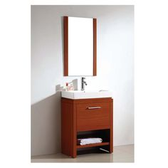 Gallery One Dawn USA Single Vanity Set with Mirror