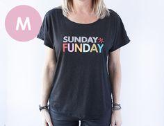 t-shirt -sunday funday -M