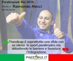 Raimondo Alecci tennis tavolo paralimpiadi Rio 2016 www.piazzabile.it atleta italia