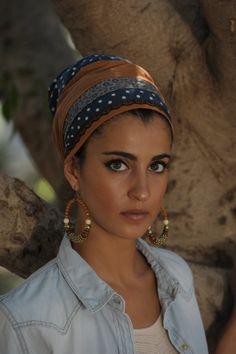 Persian Princess Sinar Tichel hair by Leelach on Etsy, $46.33