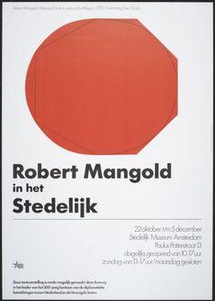 Robert Mangold in het Stedelijk - NAGO by wim crouwel