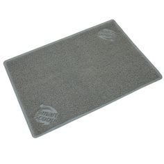 SmartScoop Litter Mat.  I need one of these bigger mats for Pene.  She doesn't use her small one, so there's always litter all over