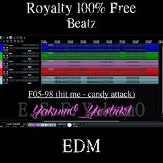 F05-98 (hit me - candy attack) Type-A [Tags Not Removed ]【Royalty Free】   YakumO_YoshikI EDM