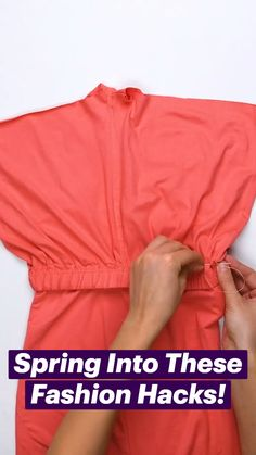 Fashion Tips, Diy Clothes And Shoes, Clothes Design, Clothes, Fashion, Fashion Hacks Clothes, Clothing Hacks, Diy Fashion, Diy Fashion Hacks