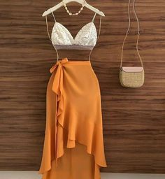 Cute Summer Outfits, Classy Outfits, Sexy Outfits, Stylish Outfits, Teen Fashion Outfits, Look Fashion, Fashion Dresses, Outing Outfit, Professional Outfits