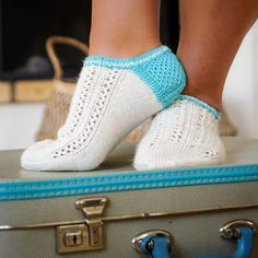 Lace socklets.
