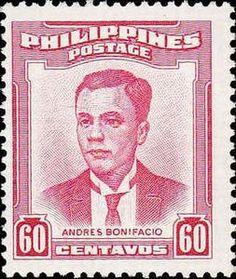 Philippines Stamp - Andres Bonifacio