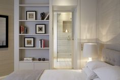 Bedroom designed by Talia Cobbold Cadogan Court Development