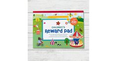 Encourage good behaviour in little ones with this pad containing 30 children's reward charts and over 300 snazzy reward stickers. With fun illustrations in three fun themes (park, pets and fairground), each chart has room to list goals for the week. Fun Illustration, Illustrations, Childrens Reward Charts, Organised Mum, Reward Stickers, Little Ones, Encouragement, Stationery, Goals