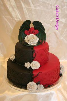 Tarta De Boda Wedding Cake Toppers Una Pasarela Entre Dos Tartas
