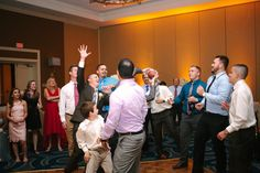 Dry Wedding | Sheraton LBV | KT Crabb Photography | Garter Toss | Orlando Wedding | Central Florida Wedding | Amber Uplighting
