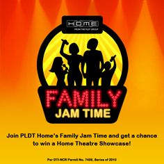 Show everyone your family's singing talent! Join PLDT Home's Family Jam Time and you may win awesome prizes for the entire family! Start singing with the whole family now. #BetterTogether https://www.facebook.com/PLDTHome/app_534834249938336