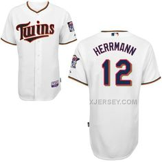 http://www.xjersey.com/twins-12-herrmann-white-cool-base-jerseys.html Only$43.00 TWINS 12 HERRMANN WHITE COOL BASE JERSEYS #Free #Shipping!