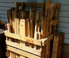 (Pallet and Loose Lumber Enclosure Tower) Running Out of Storage Space or Just Want to Organize Your Scrap Timber Pile? Here's a Solution The post P. (Pallet and Loose Lumber Enclosure Tower) appeared first on Woodworking Diy. Woodworking Bed, Easy Woodworking Projects, Diy Wood Projects, Woodworking Basics, Woodworking Techniques, Woodworking Equipment, Woodworking Magazine, Woodworking Machinery, Woodworking Workshop