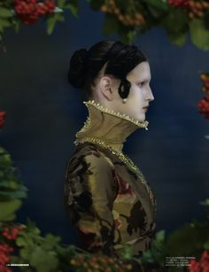 Synesthesia Garden - a weird art + style blog | » Blog Archive » Ice Queen: Fashion Editorial for Dazed and Confused Nov. 09
