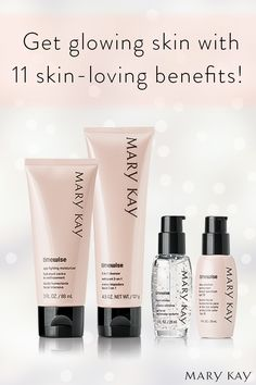 Age is just a number when you've got the TimeWise® Miracle Set®, clinically shown to reduce the appearance of fine lines, target skin resilience and help skin tone look more even. 4 products. 1 simple regime. 11 skin-loving benefits you can't go another day without. | Mary Kay