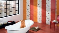 1-idei combinare si asortare faianta baie moderna Style Rustique, Modern Bathroom, Bathroom Ideas, Bathtub, Rustic, Interior Design, Home Decor, Color Naranja, Bungalows