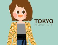 """Check out new work on my @Behance portfolio: """"2017 TOKYO girl's fashion in S/S"""" http://be.net/gallery/50799785/2017-TOKYO-girls-fashion-in-SS"""