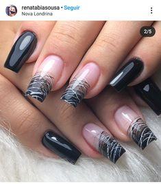 Square Nail Designs, Long Nail Designs, Ambre Nails, Beige Nails, Short Gel Nails, Classic Nails, Fall Acrylic Nails, Crazy Nails, Luxury Nails