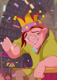Tom Hulce as the voice of Quasimodo in The Hunchback of Notre Dame (1996)