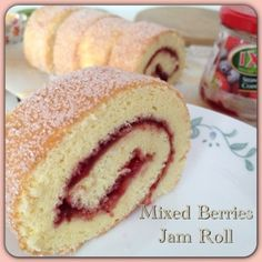 My Mind Patch: Mixed Berries Jam Roll