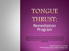 Communication Station: Speech Therapy PLLC: Tongue Thrust: A Remediation Program! Oral Motor Activities, Speech Therapy Activities, Speech Language Pathology, Speech And Language, Page Program, Speech And Hearing, Articulation Therapy, Articulation Activities, Receptive Language