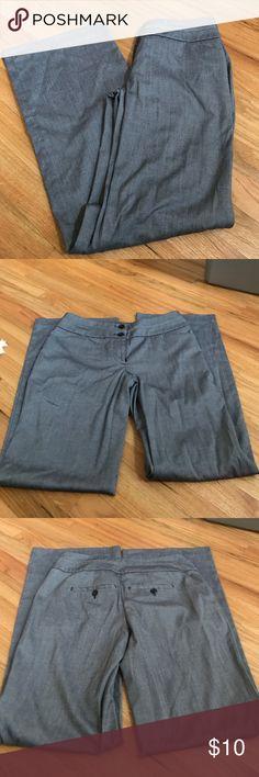 Gray dress pants Like new Gray dress pants Apt.9 Pants