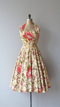 Vintage Party Dress * Isle of Eros by David Hart 1950's