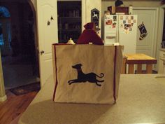This is a shopping bag I made for my friend Sherry for Christmas..it is oversized, perfect for the supermarket.