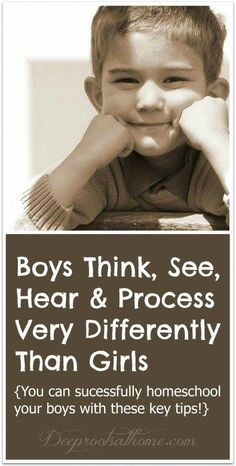 Boys Think, See, Hear & Process Very Differently Than Girls, Check out these tips for teaching boys! Kids And Parenting, Parenting Hacks, Parenting Plan, Peaceful Parenting, Gentle Parenting, Parenting Classes, Parenting Styles, Waldorf Montessori, Mothers Of Boys