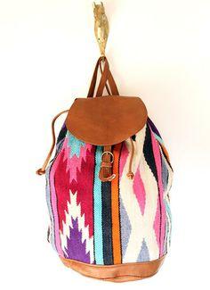 Vintage soutwestern backpack