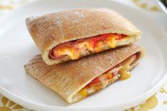 Ham 'n Cheese Calzones recipe