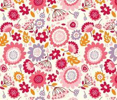 Stacy Iest Hsu - Dancing Flowers, pink