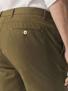 Ver todo - Pantalones - HOMBRE - Massimo Dutti Men Trousers, Denim Pants, Fashion Pants, Mens Fashion, Slim Fit Pants, Cotton Pants, Casual, Mens Tops, Shirts