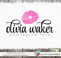 makeup artist logo make-up artists logo by autumnscreek on Etsy