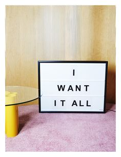 Our classic changeable light box!