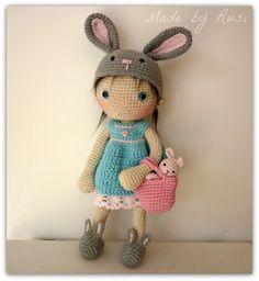 Amigurumi Häkeln Doll Lily Rusi Dolls von RusiDolls auf Etsy