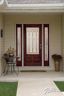 Genial Pella® Architect Series® Fiberglass Entry Doors Transform The Look