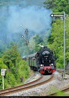 RailPictures.Net Photo: 52 4867 Deutsche Reichsbahn Steam 2-10-0 at Wilgartswiesen, Germany by Jean-Marc Frybourg