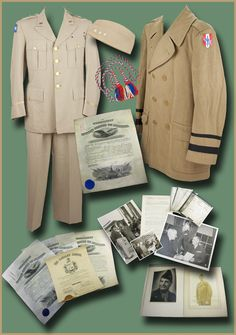 "Three-Star World War II Lieutenant General Geoffrey Keyes: his uniform, his cap, and his wool overcoat – with many related let by World War II  [Europe], 1942 - 1950.  ""Highly decorated Lieutenant Colonel Geoffrey Keyes (1888-1967) was promoted to Colonel on June 26, 1941, Brigadier General on January 15, 1942, Major General on June 22, 1942, and Lieutenant General on April 17, 1945, the sam...  more   Offered By  University Archives"
