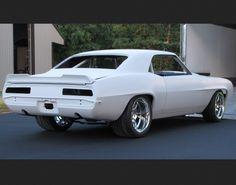 1969 Chevrolet Camaro Nhra Stock Eliminator Race Car