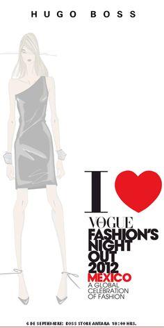 HUGO BOSS en la FNO 2012 en Antara Fashion Hall