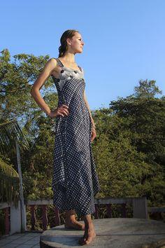Aquamarine dress, hand printed cotton,https://www.etsy.com/listing/278040038/long-woman-dress-hand-printed-cotton