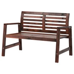 ÄPPLARÖ Bench - For the deck, Matches the table and chairs - $90